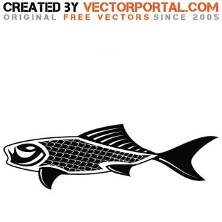 Fish Art Image Free Vector
