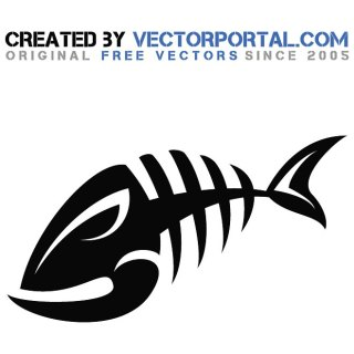 Fish Bone Royalty Free Clip Art Free Vector