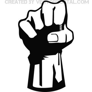Fist Free Art Free Vector