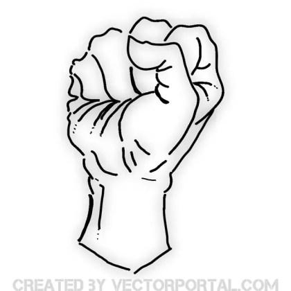 Fist Free Vector