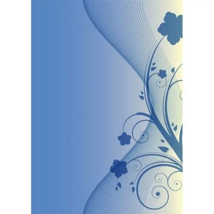 Flourish Background Free Vector