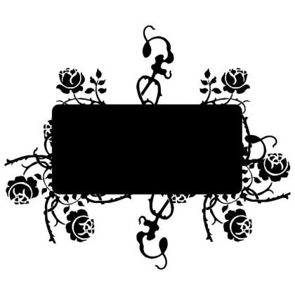 Flourish Banner Free Vector
