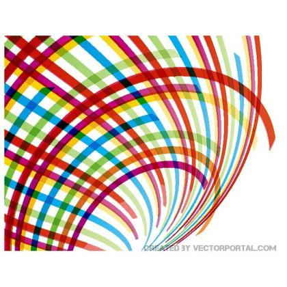 Flowing Stripes Stock Graphics Free Vector