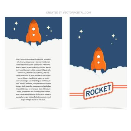 Flyer Template Free Vector