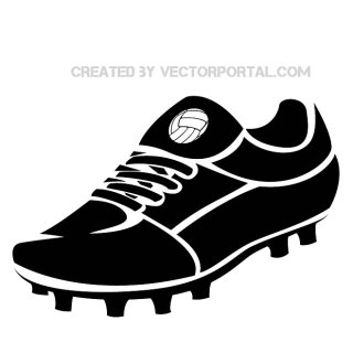 Football Boot Image Free Vector