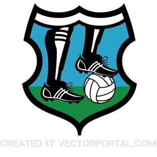 Football Logo Clip Art Free Vector