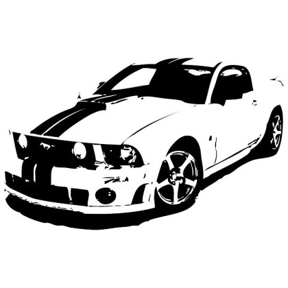 Ford Mustang Free Vector