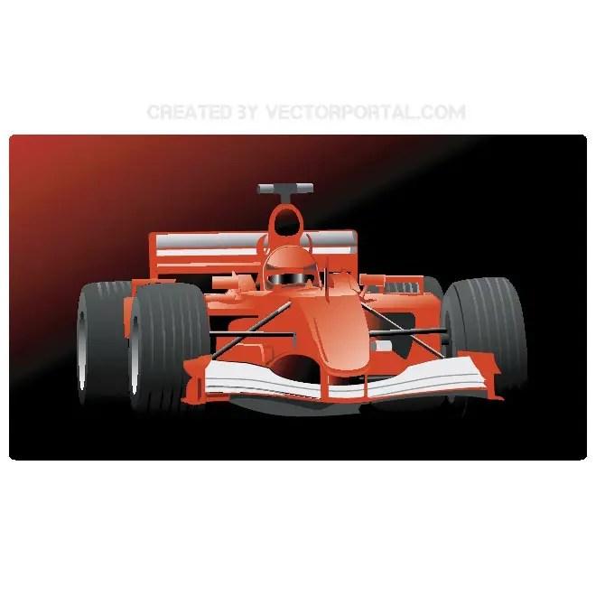Formula One Free Vector