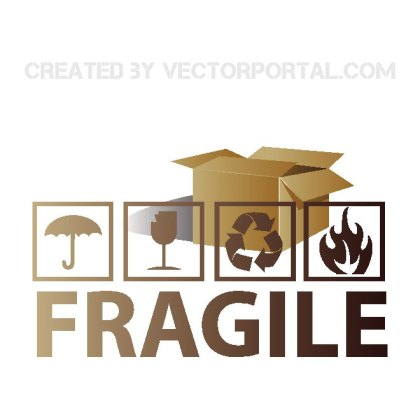 Fragile Symbols Free Vector