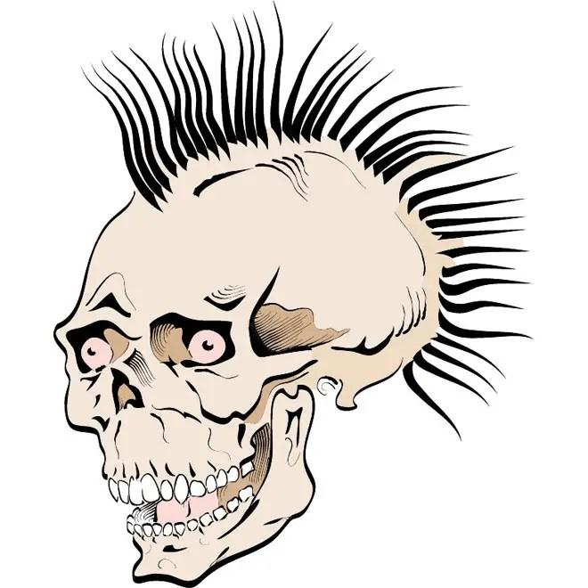 Free Skull Vp Free Vector