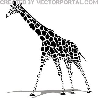 Giraffe Image Free Vector