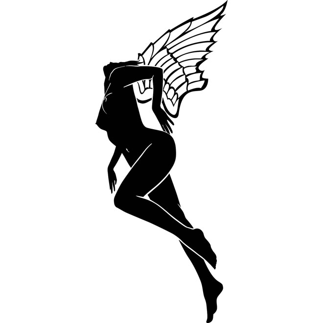 Girl Fairy Image Free Vector