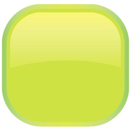 Glossy Green Button Free Vector