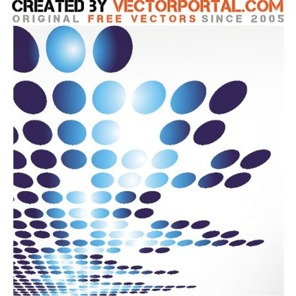 Glossy Stock with Dots Free Vector