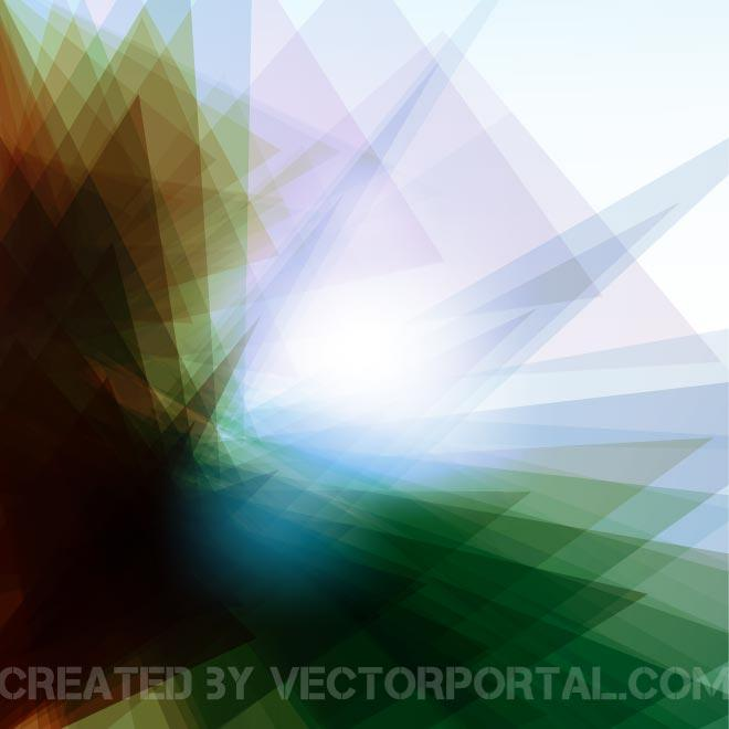 Glowing Stock Pattern Free Vector