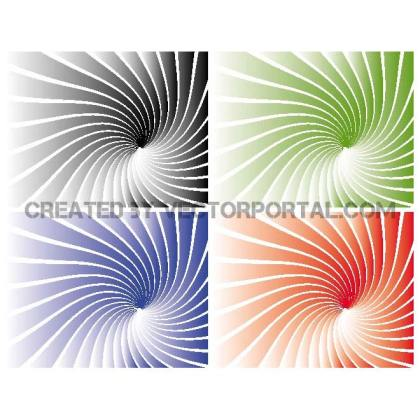 Gradient Rays Background Free Vector