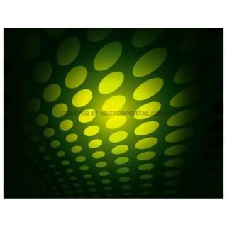 Green Dots Abstract Backdrop Free Vector