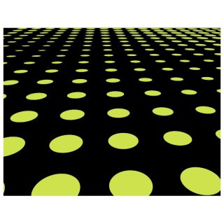 Green Dots on Black Background Free Vector