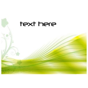 Green Floral Stock Image Free Vector
