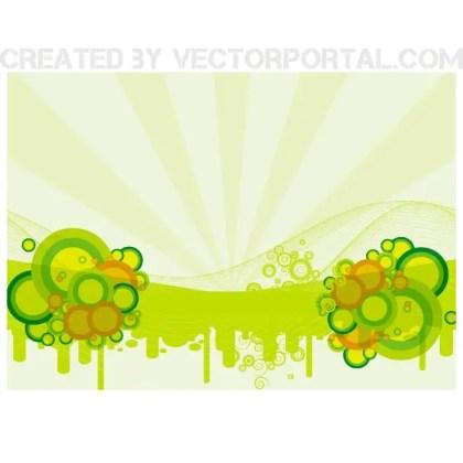 Green Retro Stock Free Vector