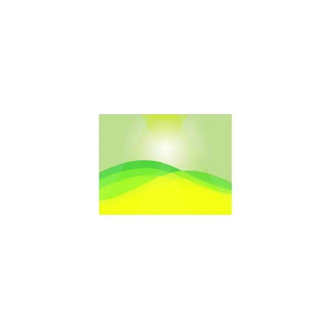 Green Sunbeam Background Free Vector