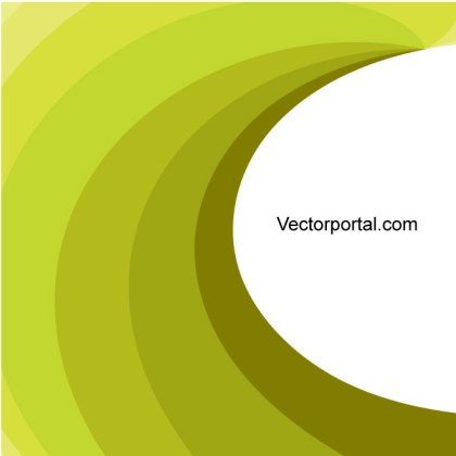 Green Swirl Graphics Free Vector