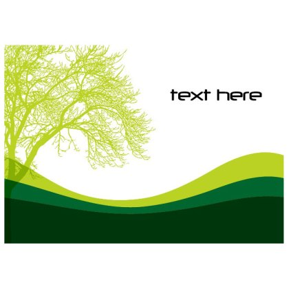 Green Tree Free Vector