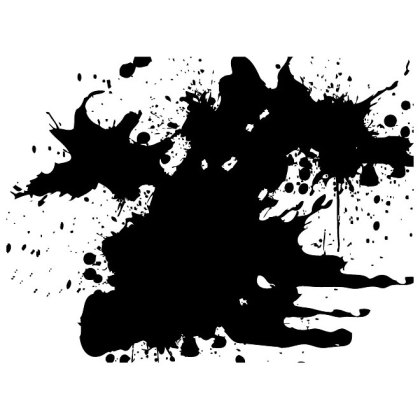 Grunge Ink Splatter Free Vector