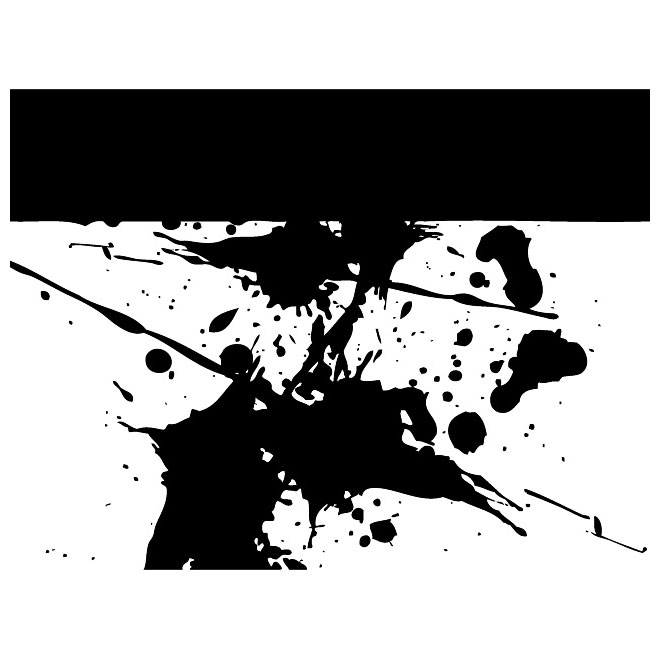 Grunge Smudge Image Free Vector