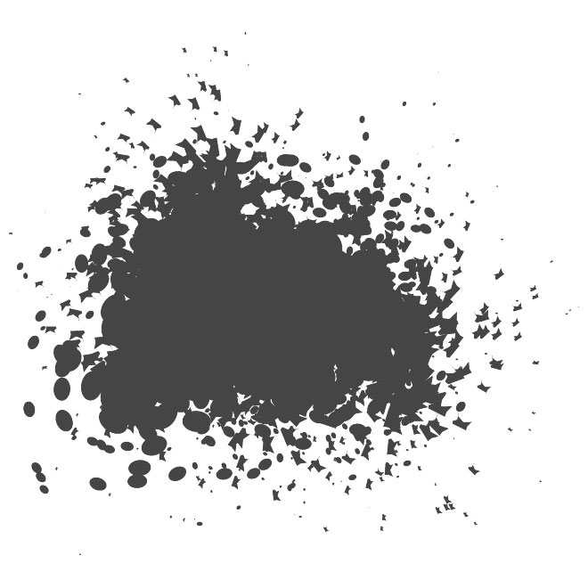 Grunge Spots and Splatter Free Vector