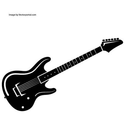 Guitar Artwork Free Vector