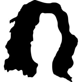 Hair Silhouette Free Vector