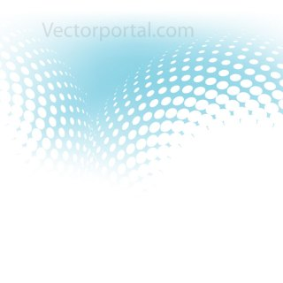 Halftone Gradient Mesh Free Vector