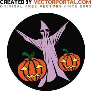 Halloween Clip Art Graphics Free Vector