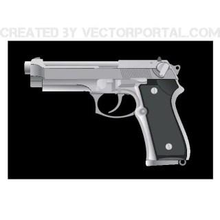 Handgun Image Free Vector