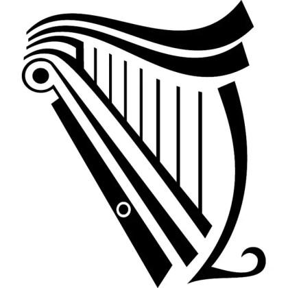 Harp Image Free Vector