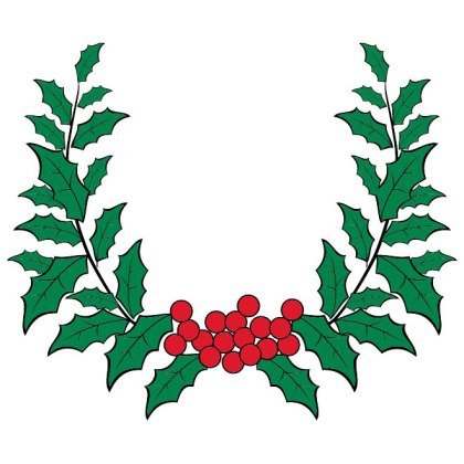 Holy Wreath Free Vector