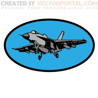 Hornet Aircraft Free Vector