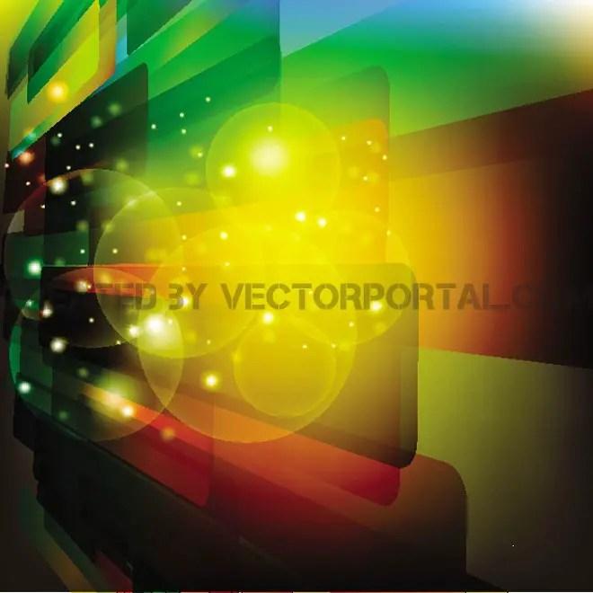 Illuminating Abstract Background Free Vector