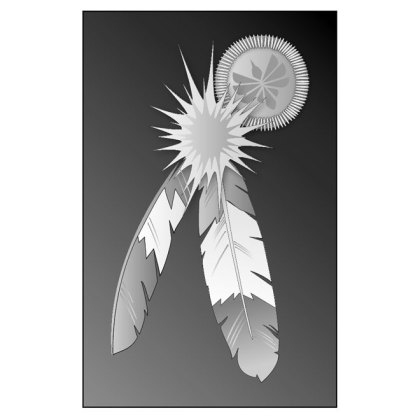 Indian Feathers Free Vector
