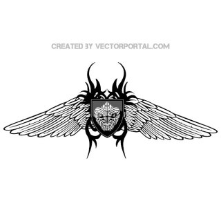 Insect Wings Image Free Vector