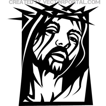 Jesus Christ Clip Art Graphics Free Vector