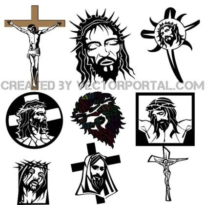 Jesus Christ Free Set Free Vector