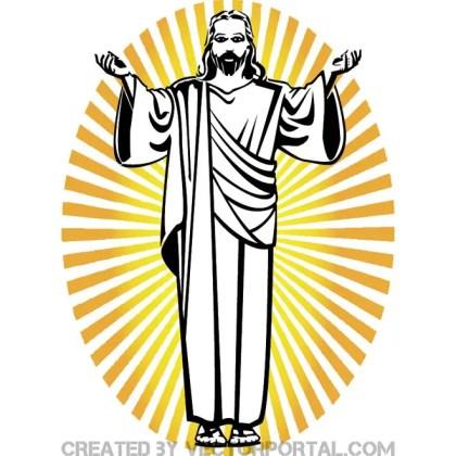 Jesus of Nazareth Free Vector