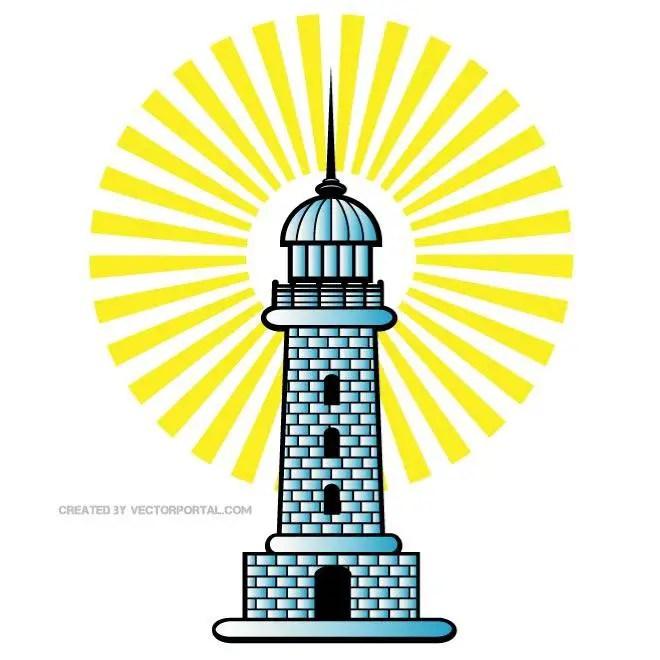 Lighthouse Clip Art Free Vector