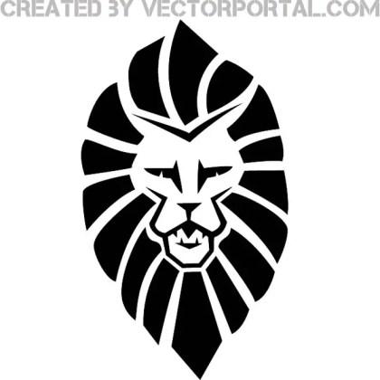Lion Head Graphics Free Vector