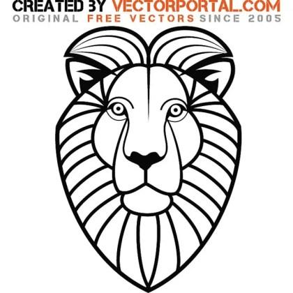 Lion Stock Graphics Free Vector