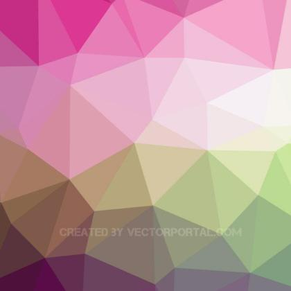 Low Poly Background Free Vector