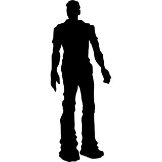 Man Silhouette Free Vector