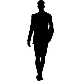 Man Walking Image Free Vector